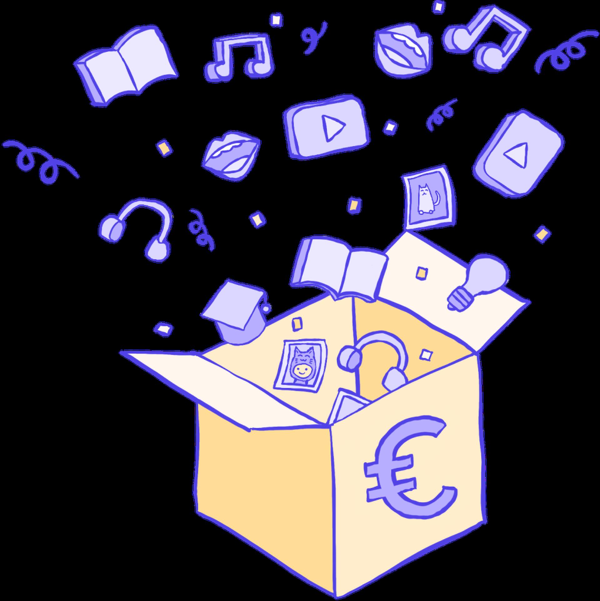 vente de produits numériques